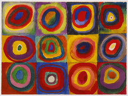 ESTUDIO SOBRE EL COLOR - KANDINSKY