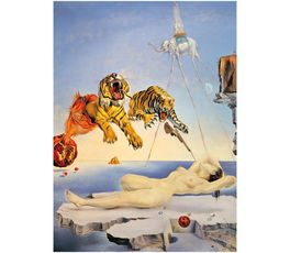 ONE SECOND BEFORE - S. DALI