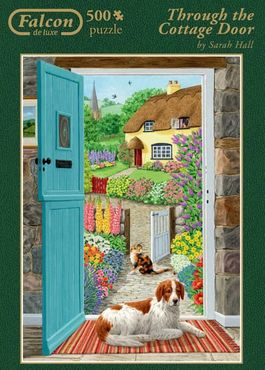 TROUGH THE COTTAGE DOOR