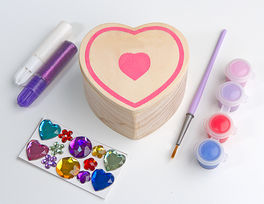 CAJA CORAZON DECORAR