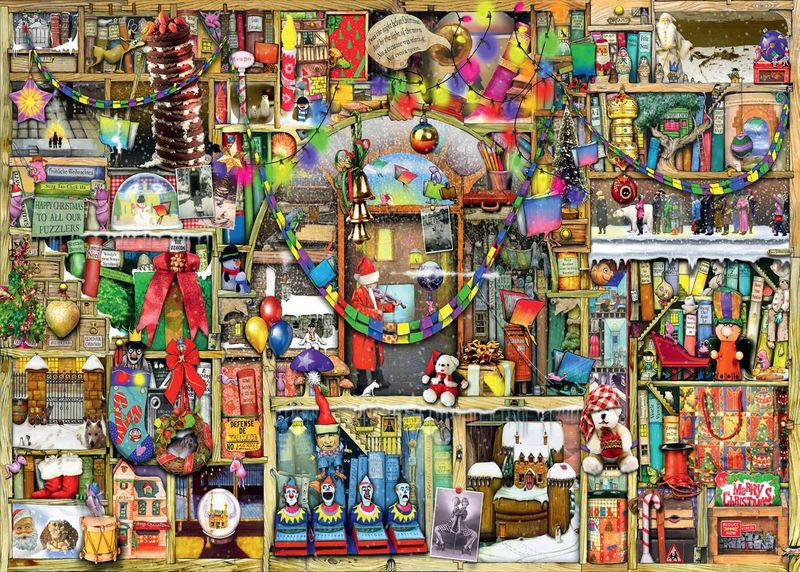 THE CHRISTMAS CUPBOARD-COLIN THOMPSON