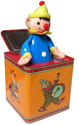 PAYASO RETRO JACK IN A BOX