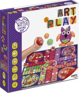ART & PLAY: PARCHIS BUHOS