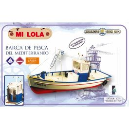 KIT CONSTRUCCION BARCO MI LOLA