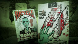 NAIPES POKER ZOMBIE BICYCLE