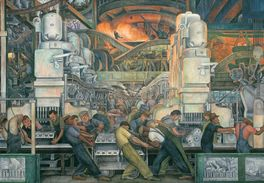 DETROIT INDUSTRY-DIEGO RIVERA