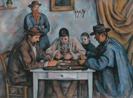 CARD PLAYERS-PAUL CEZANNE