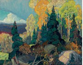AUTUMN HILLSIDE-FRANKLIN CARLMICHAEL