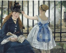 THE RAILWAY-MANET