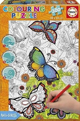 ALL GOOD THINGS-COLOURING PUZZLE