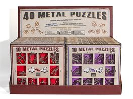 EUREKA PUZZLES METAL SET