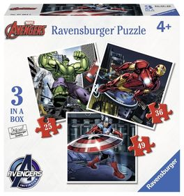 AVENGERS 3 IN A BOX