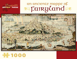 A ANCIENTE MAPPE OF FAIRYLAND