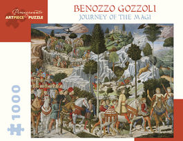 JOURNEY OF THE MAGI - BENOZZO GOZZOLI
