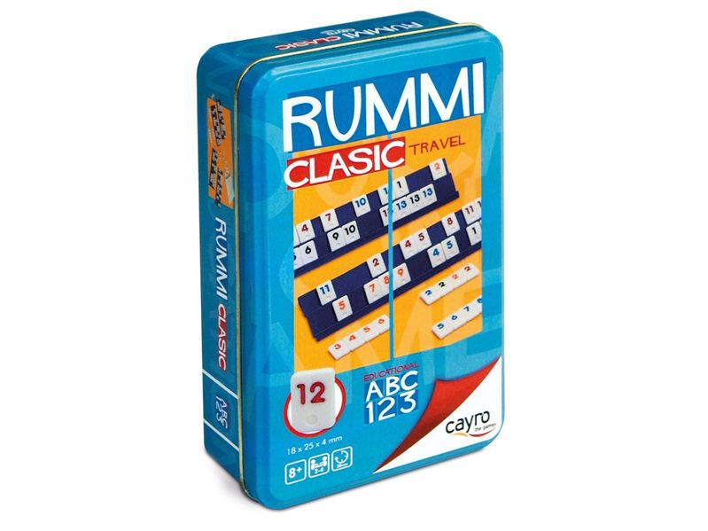 RUMMI 4 TRAVEL METAL BOX