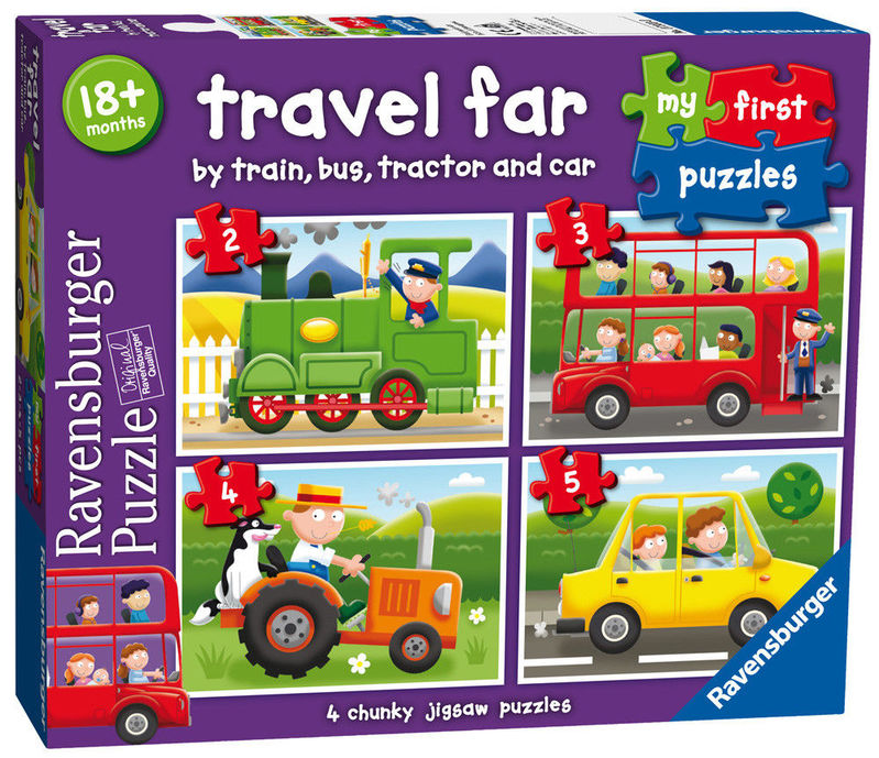 TRAVEL FAR MI PRIMER PUZZLE