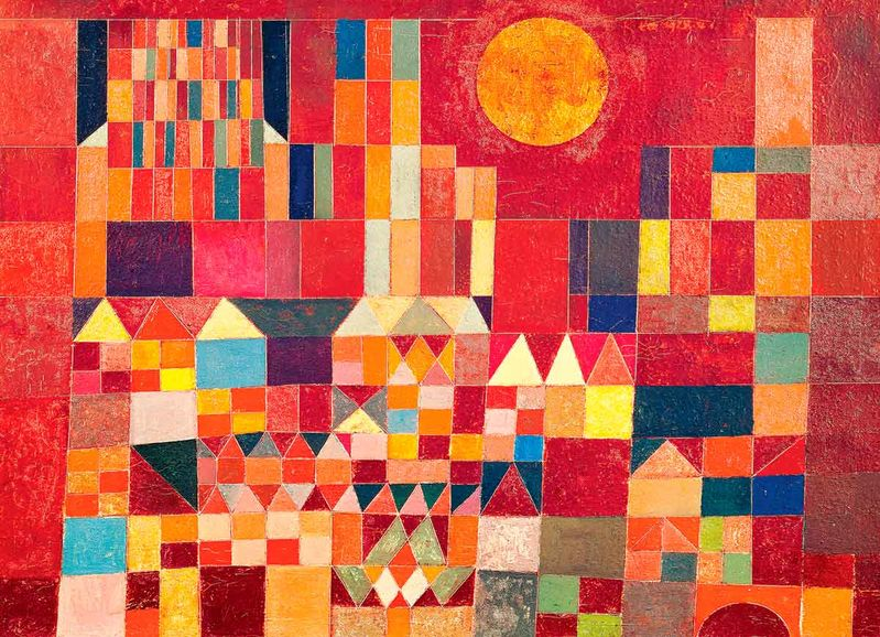 PAUL KLEE: CASTLE AND SUN