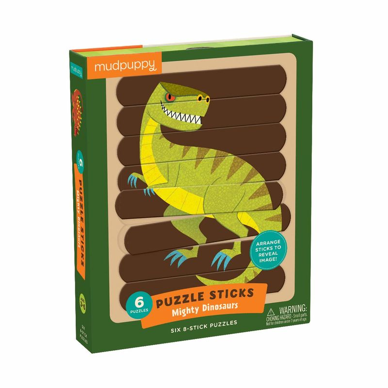PUZZLE STICK - MIGHTY DINOSAURS