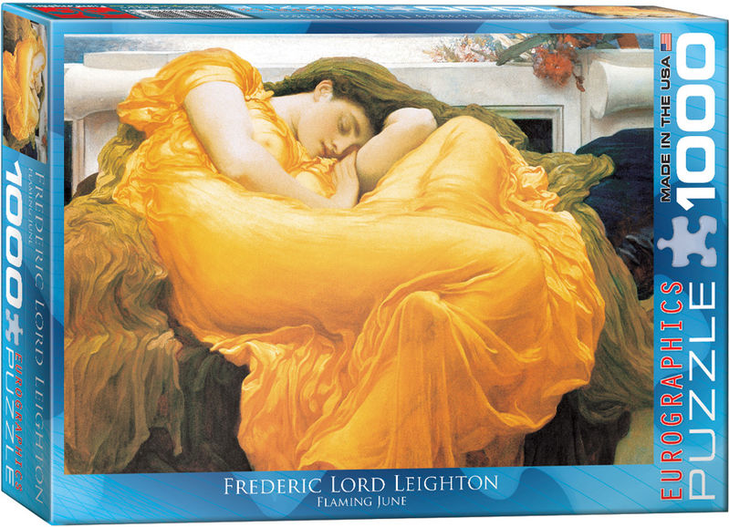 FLAMING JUNE - FREDERIC LORD LEIGHTON