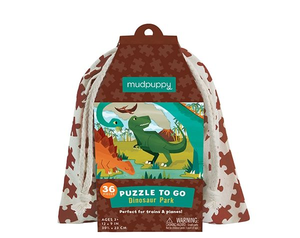 DINOSAUR PARK/ PUZZLE TO GO