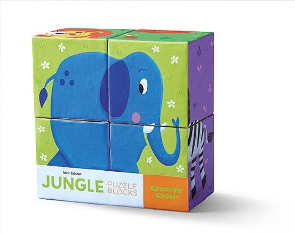 BLOCK SET JUNGLE 4 PC
